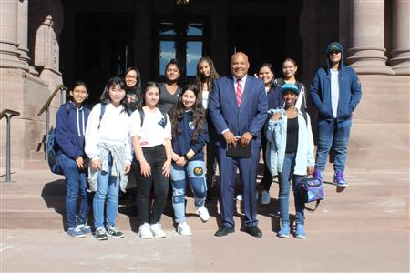 Trip to Queens Park: Meeting with Michael Coteau (MPP)