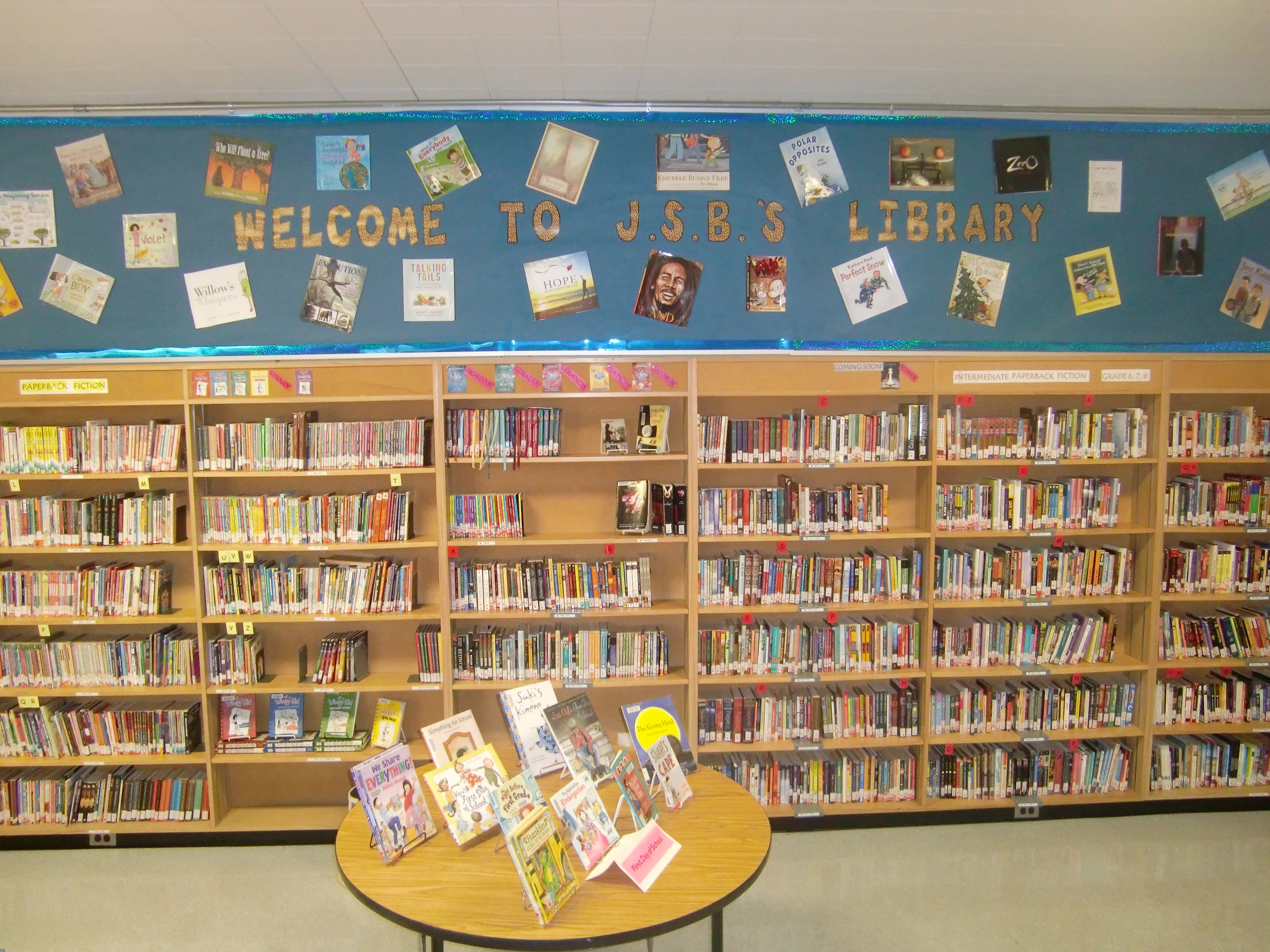 uses of library in school