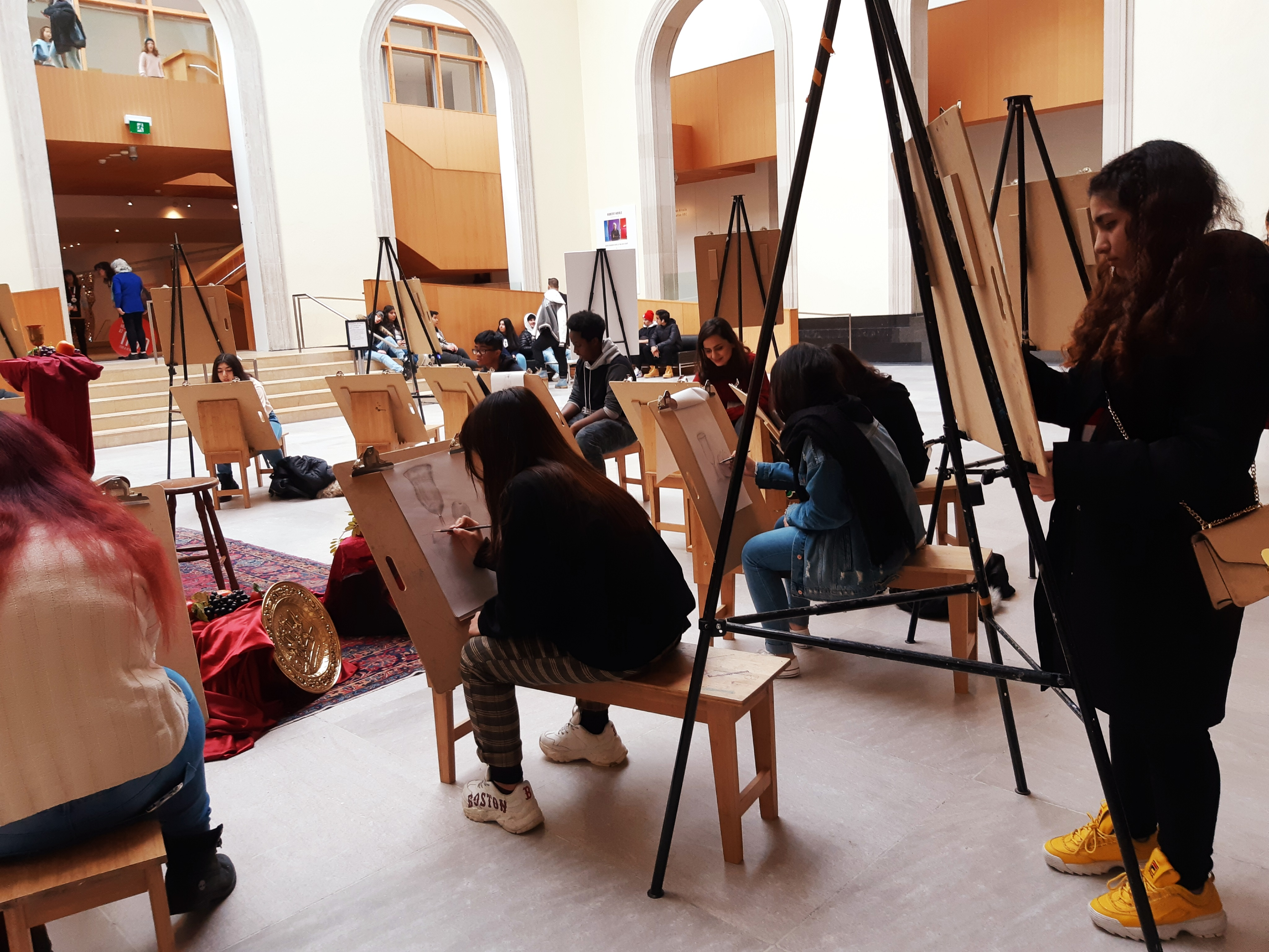Pop-up Art Class at the AGO open gallery