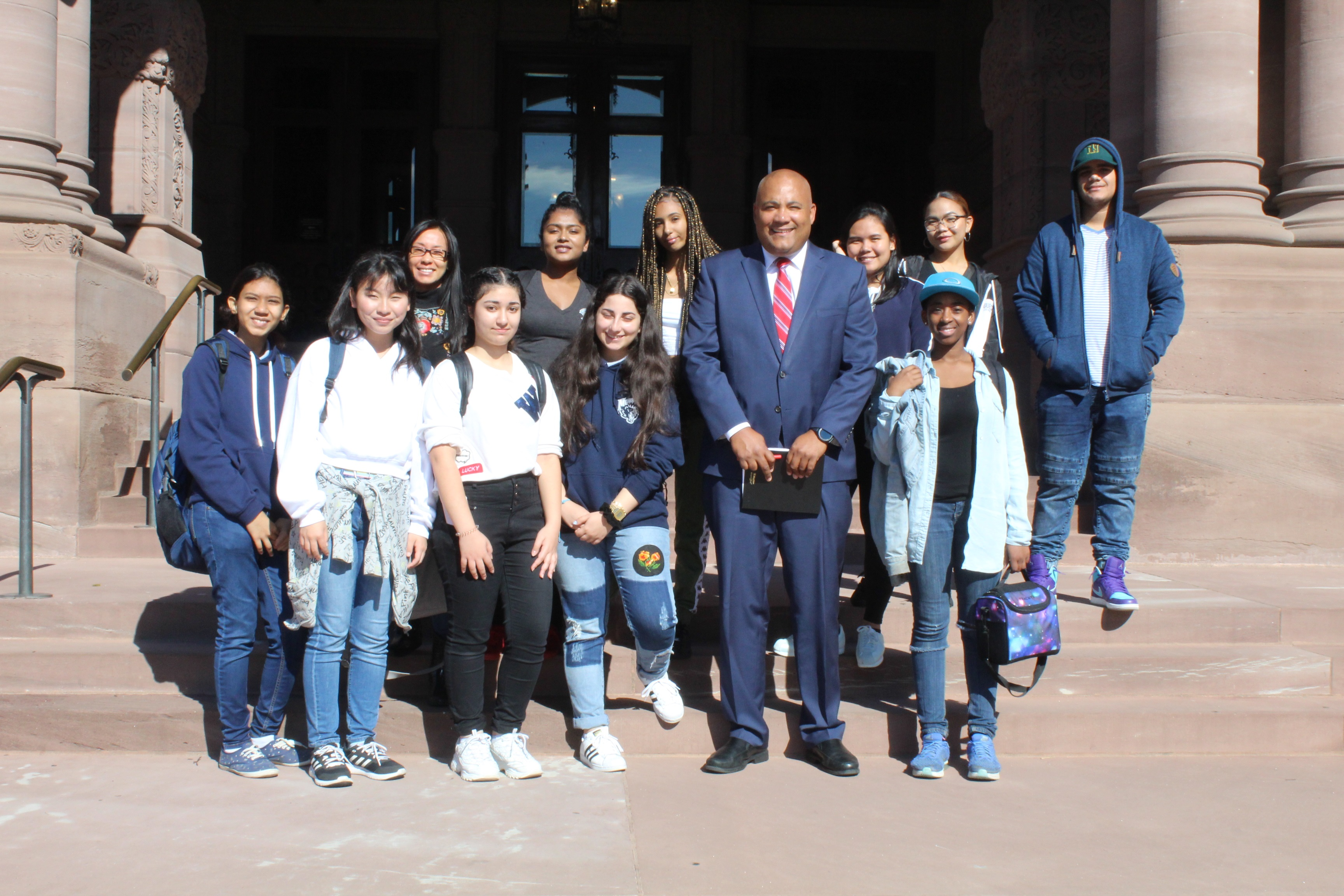 Trip to Queens Park: Meeting with Michael Coteau (MPP) open gallery