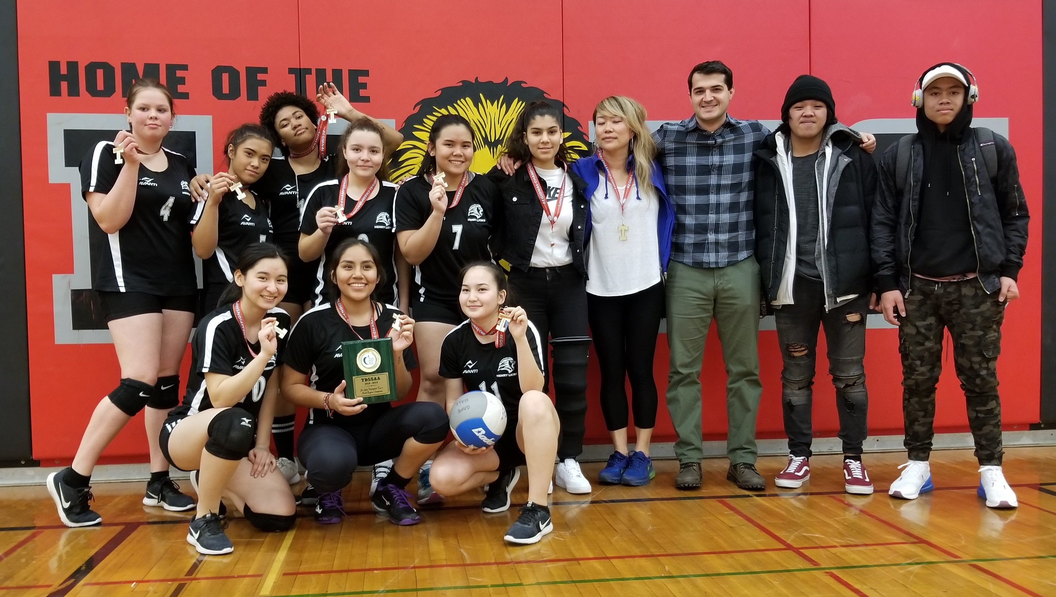 2018/2019 Tier 2 Volleyball Champions open gallery