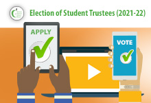 Election of Student Trustees 2021-2022