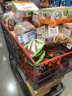 cart full of good food