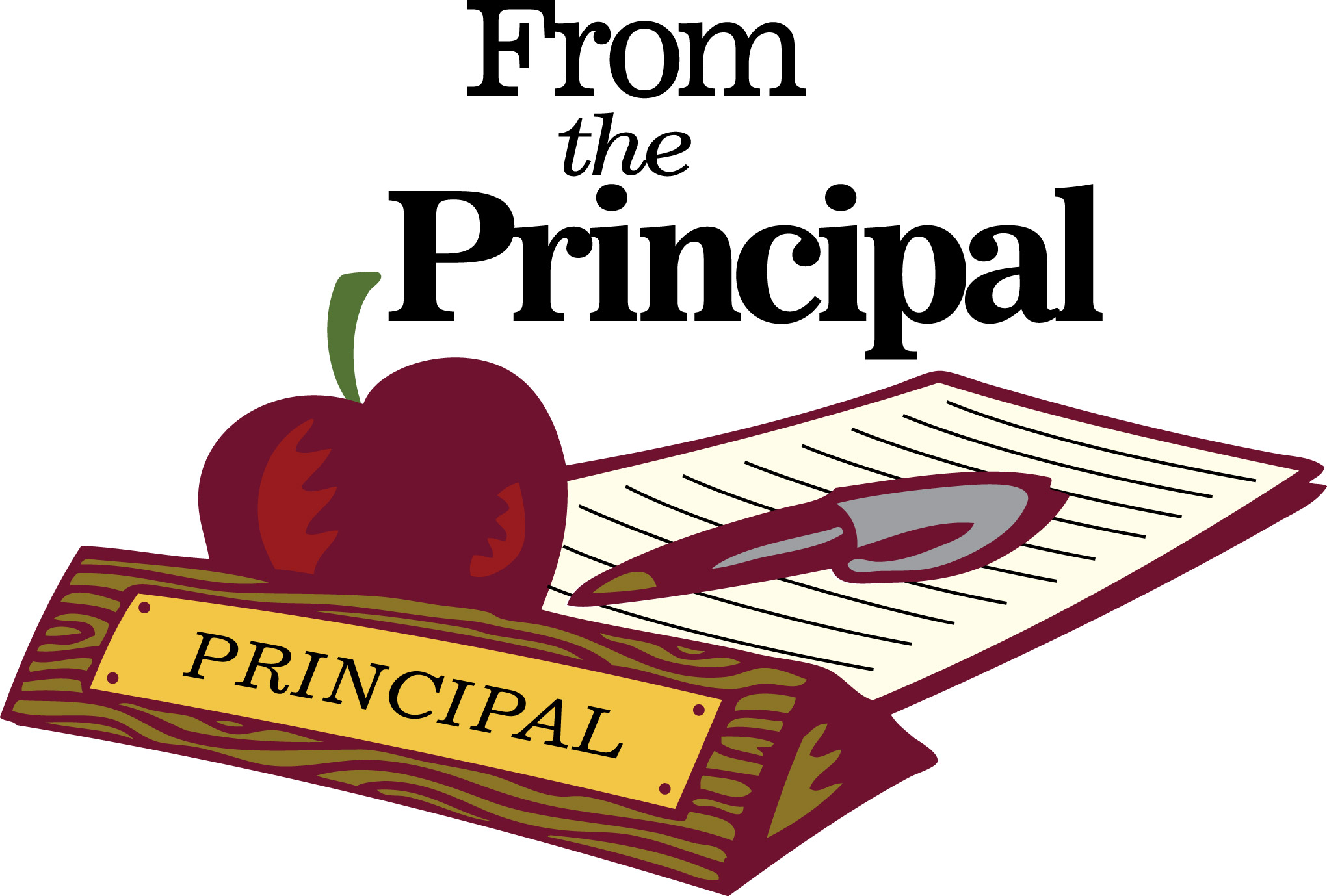 Image result for animated principal message
