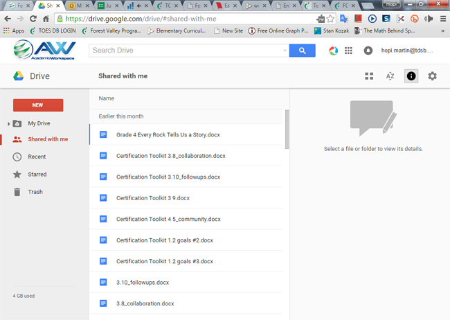 how to approve access on google drive