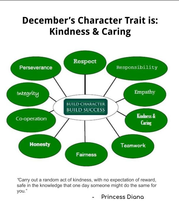 December Character Trait