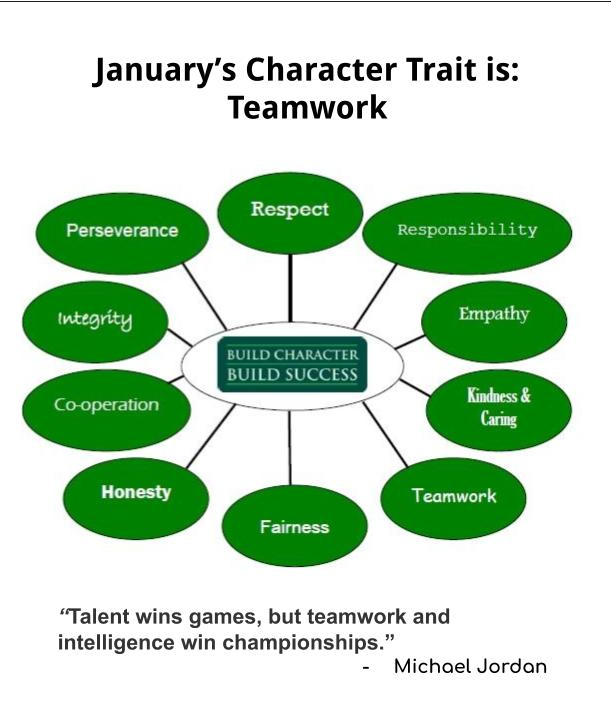 January Character Trait