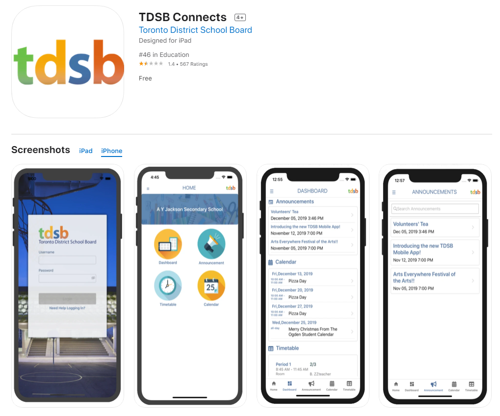 TDSB Connects App