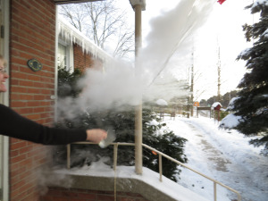 Making Ice Crystals in the Air