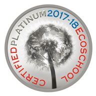 Certified Platinum Eco School 2017 - 2018