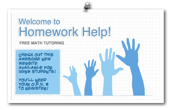 Homework help websites The Homework Help Program offers free on line math homework support for  students in grades      and their parents Learn for free about math  art
