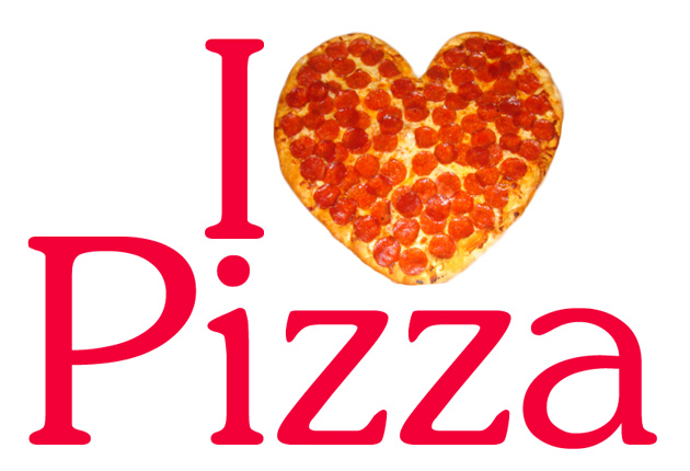 I love pizza graphic