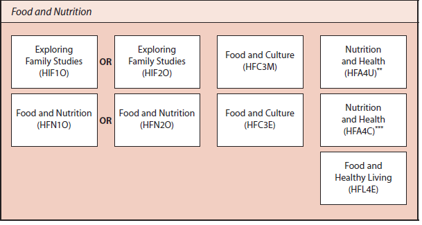 food and nutrition courses