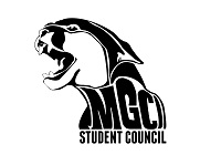 Graphic Image of Roaring Cougar reading MGCI Student Council