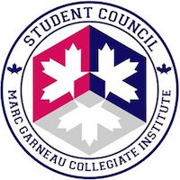 Graphic Image of Student Council Marc Garneau Logo