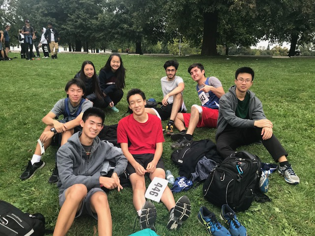 students who participated in cross country 2018