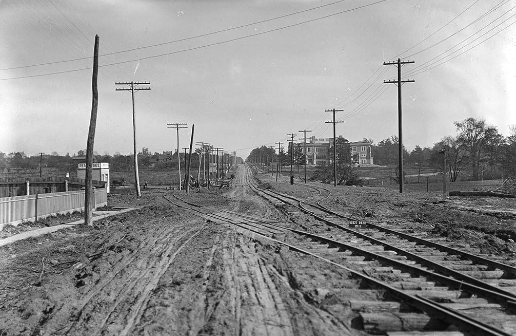 Rail road in old days