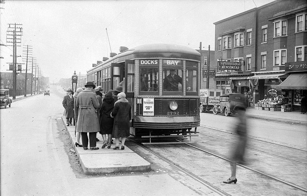 Streetcar in 1928s