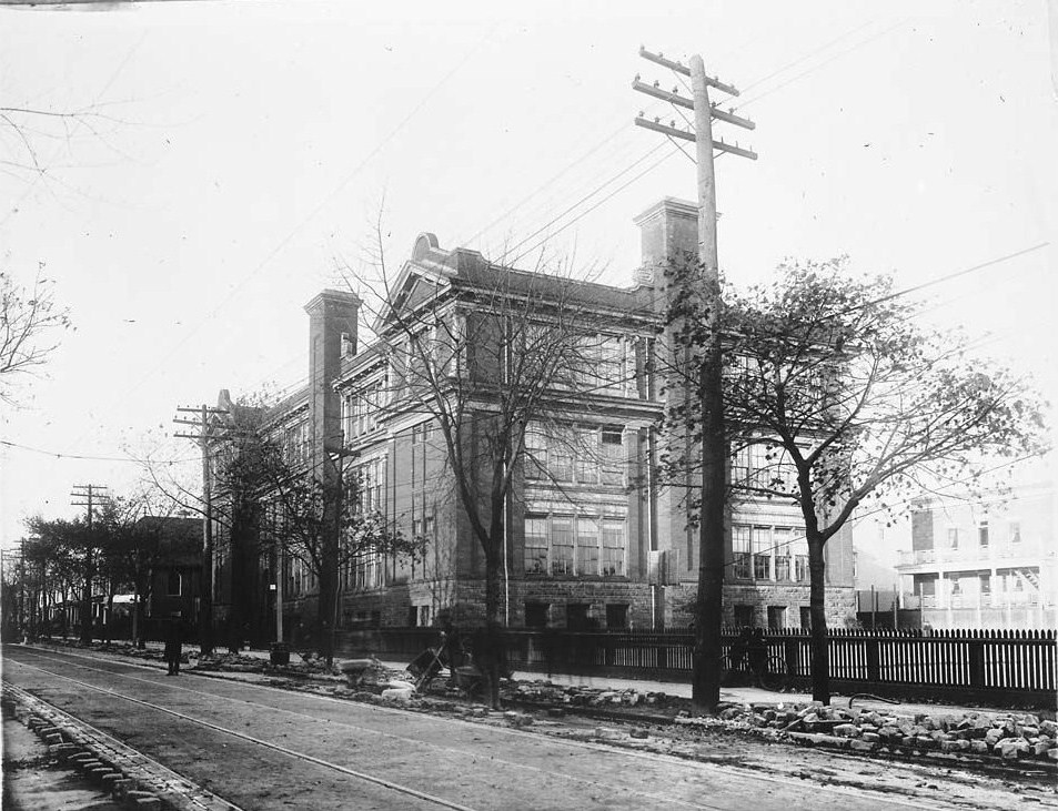 King Edward Public school at 1920s