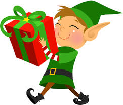 elf with gift