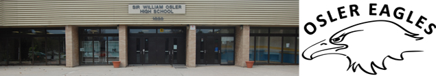 Picture of Sir William Osler H.S. Front Doors
