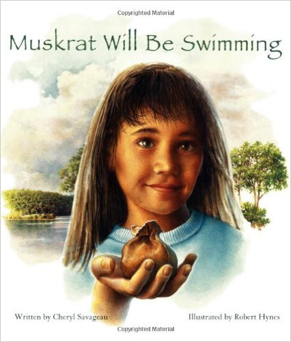 book cover of muskrat swimming