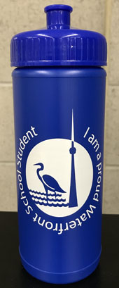 Proud Waterfront School Student Water Bottle