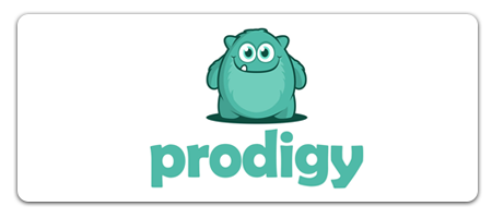 button for Prodigy website