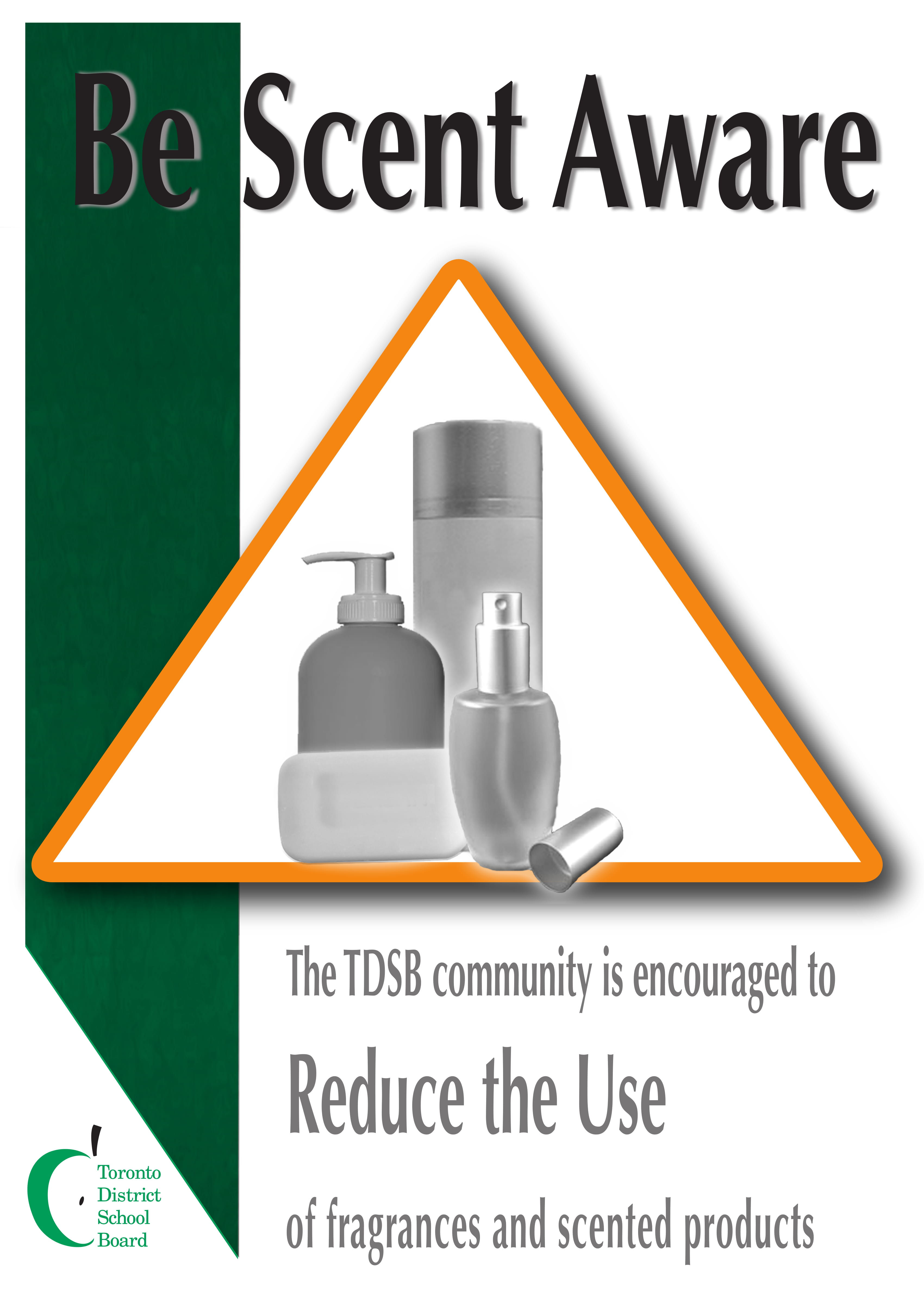 Scent Awareness Poster - Be Scent Aware