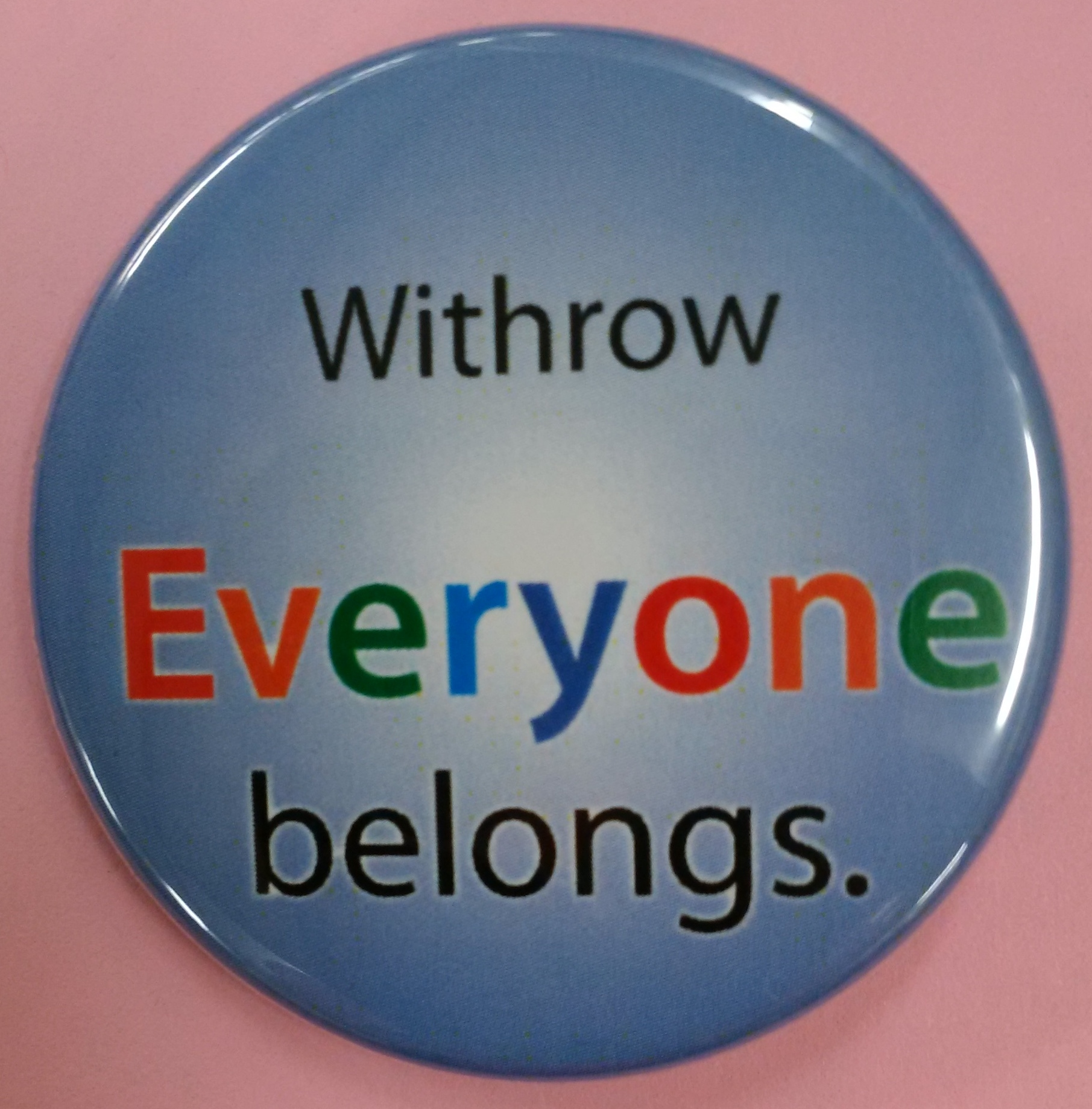Withrow Everyone Belongs
